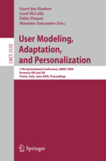 Proceedings of the Lifelong User Modelling Workshop, at UMAP '09 User Modeling Adaptation, and Personalization