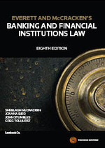 Everett and McCrackens Banking and Financial Institutions Law – 8th Edition