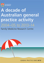 A decade of Australian general practice activity 2004-05 to 2013-14