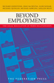 Beyond Employment: The Legal Regulation of Work Relationships