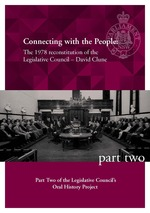 Connecting with the People: The 1978 reconstitution of the Legislative Council