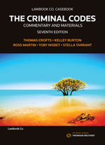 The Criminal Codes: Commentary and Materials 7th Edition