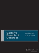 Carter's Breach of Contract, 2nd edition