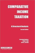 Comparative Income Taxation: A Structural Analysis, 2nd edition