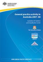 General practice activity in Australia 2007-08