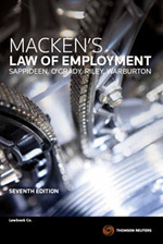 Macken's Law of Employment (7th Edition)