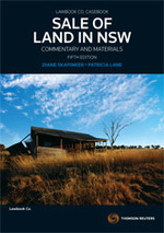 Sale of Land in NSW: Commentary and Materials (5th edition)