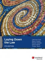 Laying Down the Law - 9th Edition