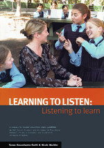 Learning to listen: Listening to learn