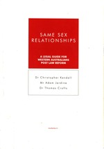 Same Sex Relationships: A Legal Guide for Western Australians Post Law Reform