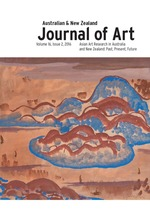Asian Art Research in Australia and New Zealand: Past, Present, Future. Special issue