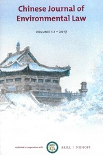 Chinese Journal of Environmental Law