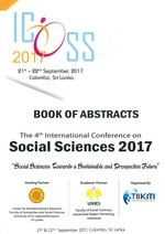 Book of abstracts: 4th International Conference on Social Sciences (ICOSS 2017)