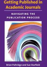 Getting published in academic journals: Navigating the publication process