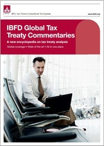 Global Tax Treaty Commentaries