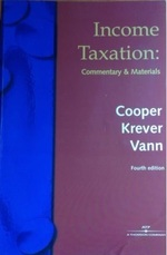 Income Taxation: Commentary and Materials (4th edition)
