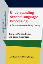 Understanding Second Language Processing: A Focus on Processability Theory