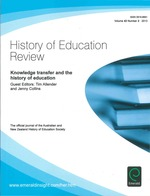 Special issue: Knowledge transfer and the history of education