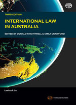 International Law in Australia - 3rd Edition