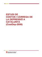 Estudi de costos i carrega de la depressio a Catalunya