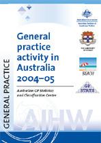 General practice activity in Australia 2004-05