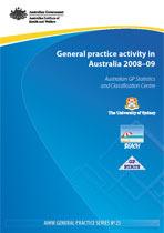 General practice activity in Australia 2008-09