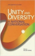 Unity and diversity : a national conversation : Barton lectures
