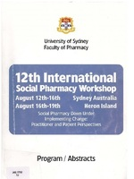 The 12th International Social Pharmacy Workshop