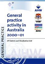 General practice activity in Australia 2000-2001