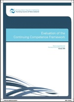 Evaluation of the Continuing Competence Framework