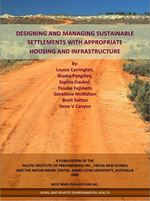 Designing and managing sustainable settlements with appropriate housing and infrastructure
