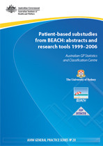 Patient-based substudies from BEACH: abstracts and research tools 1999-2006