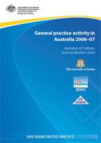General practice activity in Australia 2006–07