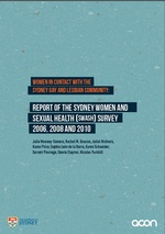 Women in Contact with the Perth Gay and Lesbian Community: Report of the Sydney Women and Sexual Health (SWASH) Survey 2006, 2008 and 2010