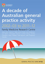 A decade of Australian general practice activity 2002-03 to 2011-12
