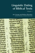 Linguistic dating of Biblical texts. Volumes 1 and 2.