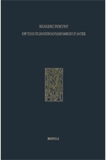 Skaldic Poetry of the Scandinavian Middle Ages Vol. VII Poetry on Christian Subjects