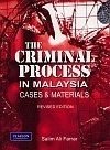 The Criminal Process in Malaysia: Cases and Materials (revised edition)