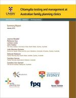 Chlamydia testing and management at Australian Family Planning Clinics