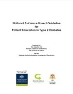 National Evidence Based Guideline for Patient Education in Type 2 Diabetes
